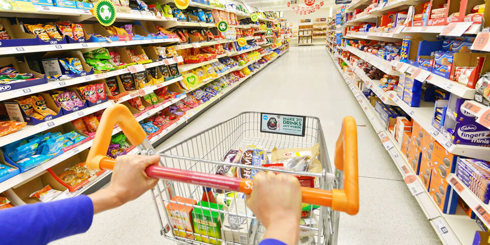 How to escape the shops with a healthy trolley